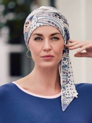 Christine Headwear Long Printed Mantra Scarf | Joseph's Wigs